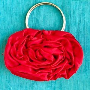 Vintage Bijoux Terner Rose Handbag